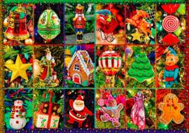 Bluebird - Festive Ornaments - 1000 stukjes