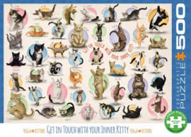 Eurographics 0991 - Yoga Kittens - 500XL stukjes