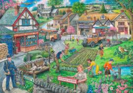 House of Puzzles - Wartime Green - 1000 stukjes