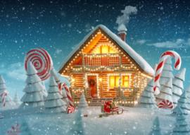 Bluebird - Christmas Cottage - 500 stukjes