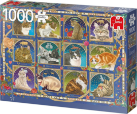 Jumbo - Francien's Katten Horoscoop - 1000 stukjes