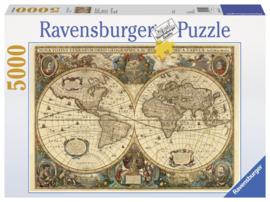 Ravensburger - Antieke Wereldkaart - 5000 stukjes