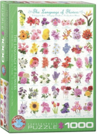 Eurographics 0579 - The Language of Flowers - 1000 stukjes