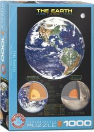 Eurographics 1003 - The Earth - 1000 stukjes
