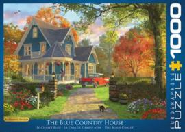 Eurographics 0978 - The Blue Country House - 1000 stukjes