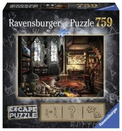 Ravensburger Puzzel Escape 5 - Draken Laboratorium - 759 stukjes