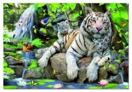 Educa - White Tigers of Bengal - 1000 stukjes