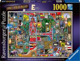 Ravensburger - Awesome Alphabet E & F  - 1000 stukjes