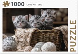Rebo - Cute Kittens - 1000 stukjes