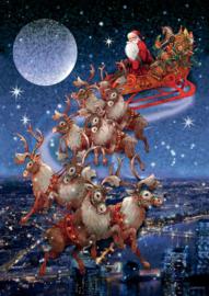 Piatnik - Santa's Flying Sleigh - 1000 stukjes