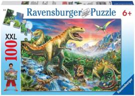 Ravensburger - Bij de Dinosaurussen - 100XXL stukjes