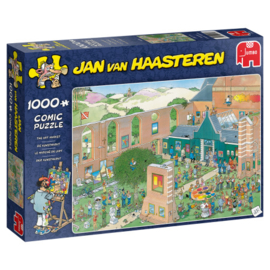 Jan van Haasteren - De Kunstmarkt - 1000 stukjes  AANBIEDING