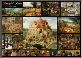 Grafika Pieter Brueghel - Collage The Elder - 1000 stukjes
