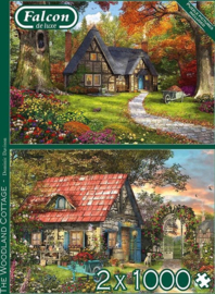 Falcon de Luxe  11294 - The Woodland Cottage - 2x1000 stukjes
