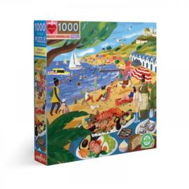 eeBoo - Beach Umbrellas - 1000 stukjes
