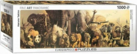 Eurographics Haruo Takino - Noah's Ark - 1000 stukjes  Panorama