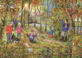 House of Puzzles - Autumn Leaves - 250XL stukjes