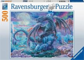 Ravensburger - IJsdraak - 500 stukjes
