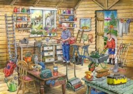 House of Puzzles - Fred's Shed - 1000 stukjes  Nr.14