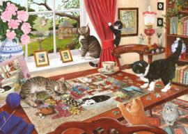 House of Puzzles - Puzzling Paws - 1000 stukjes