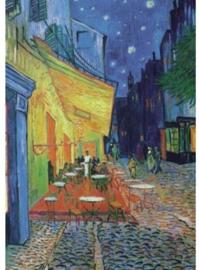 Piatnik Vincent van Gogh - Cafeterras bij Nacht - 1000 stukjes