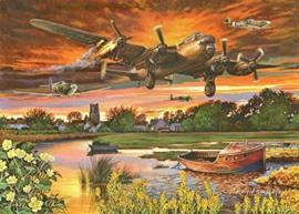 House of Puzzles - On a Wing & a Prayer - 1000 stukjes