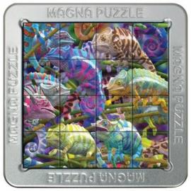 TFF 3D Magna Puzzle Small - Chameleons - 16 stukjes