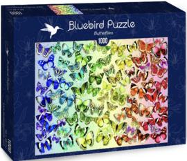 Bluebird - Butterflies - 1000 stukjes