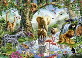 Ravensburger - Avonturen in de Jungle - 1000 stukjes