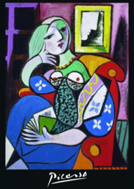Piatnik Pablo Picasso- Woman With a Book - 1000 stukjes