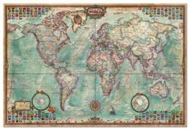 Educa - Antieke Wereldkaart - 4000 stukjes