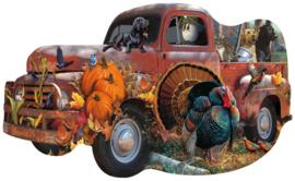 SunsOut 96089 - Harvest Truck -1000XL  stukjes  Vormpuzzel