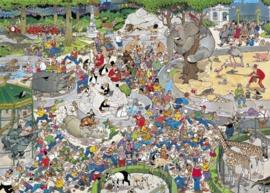 Jan van Haasteren - Dierenpark Artis - 1000 stukjes