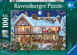 Ravensburger - Kerstmis Thuis - 100XXL stukjes