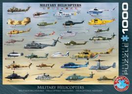 Eurographics 0088 - Military Helicopters - 1000 stukjes