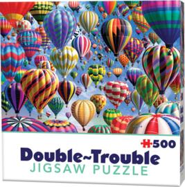 TFF Dubbelzijdige puzzel - Luchtballonnen - 500 stukjes