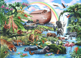 House of Puzzles - Noah's Ark - 500XL stukjes