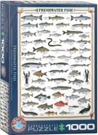 Eurographics 0312 - Freshwater Fish - 1000 stukjes