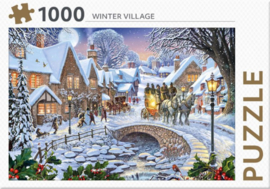 Rebo - Winter Village - 1000 stukjes