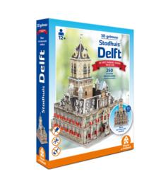 TFF 3D Gebouw - Stadhuis Delft - 250 stukjes