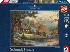 Thomas Kinkade - Peaceful Moments - 500 stukjes