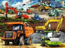 Ravensburger  - Bouwvoertuigen - 100XXL stukjes
