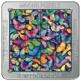 TFF 3D Magna Puzzle Small - Butterflies - 16 stukjes