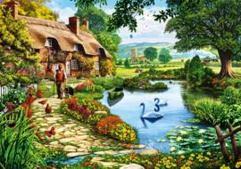 Bluebird - Cottage by the Lake - 1000 stukjes