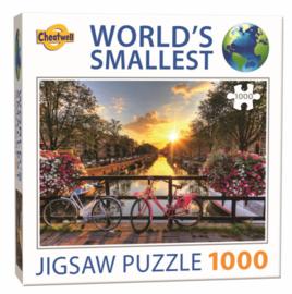 TFF World Smallest - Amsterdam - 1000 stukjes  Minipuzzel