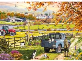 Otter House - Countryside Morning - 1000 stukjes