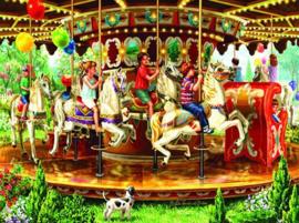 SunsOut 59798 - Carousel Ride - 1000 stukjes