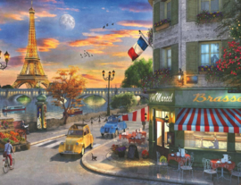 Ravensburger - Romantische Avond in Parijs - 2000 stukjes