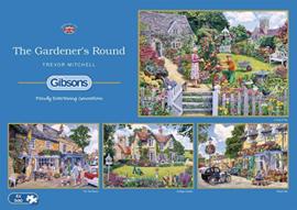 Gibsons 5047 - The Gardener's Round - 4X500 stukjes