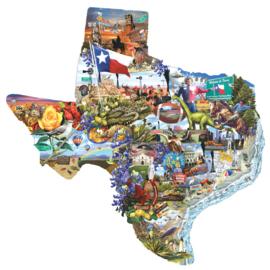 SunsOut 95373 - Welcome to Texas - 1000 stukjes Vormpuzzel